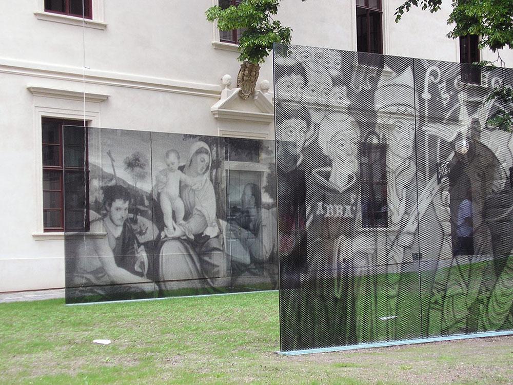 digitální tisk interiérových obrazů